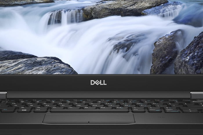 dell latitude 7000 5000 laptops refreshed ces 2018 front