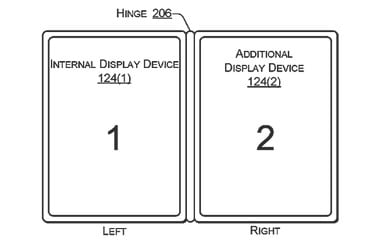 Dell Patent Filing Reveals a Two-Screen Laptop Managing DRM