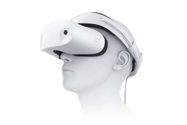 90c62c59a2b3 The Dell Visor Mixes Virtual With Reality For Windows 10