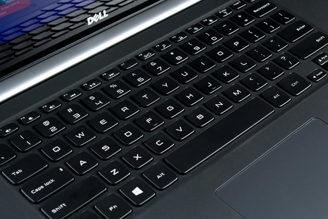 Dell XPS 15 review keyboard 2