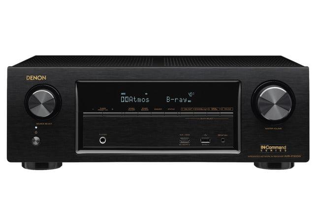 denon announces avr x1300 x2300 receivers x1300w front