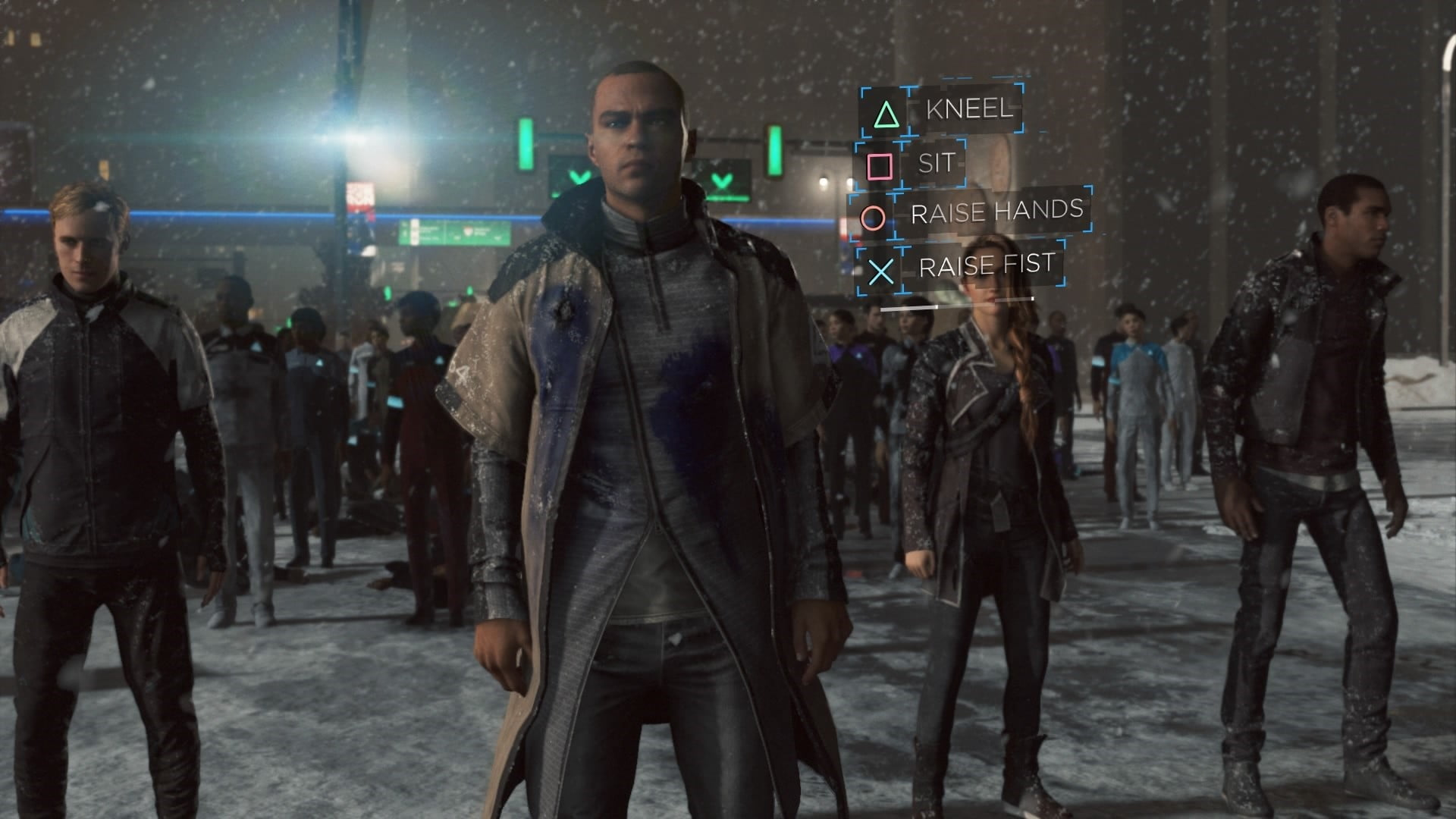Image result for detroit become human rally