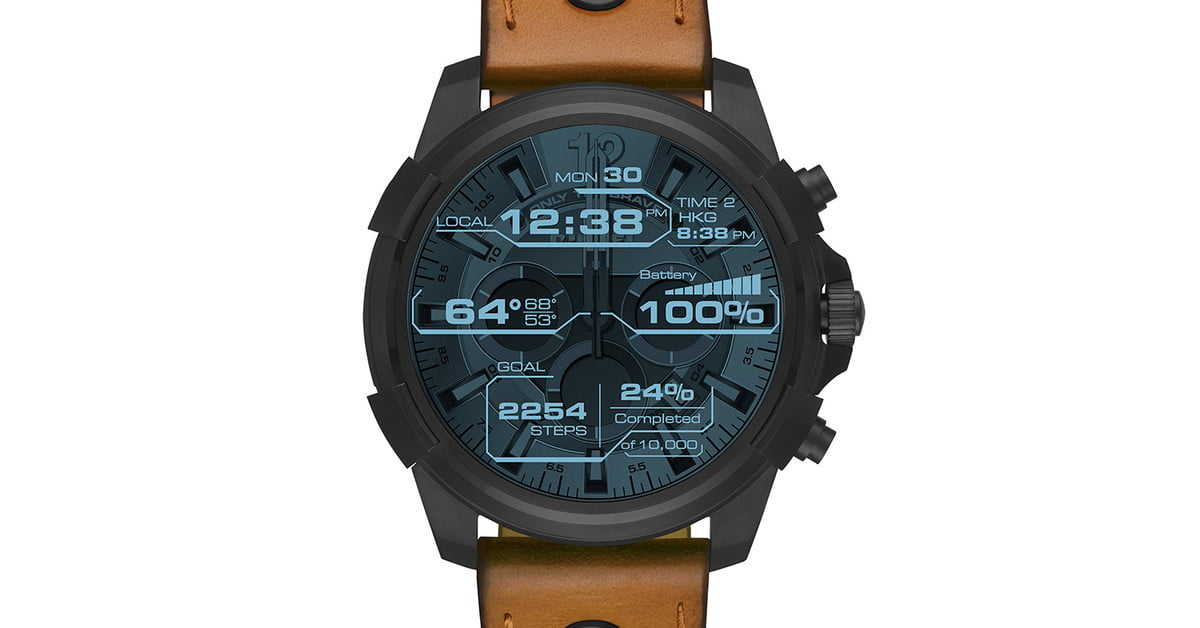6435911bedb5 Diesel On Full Guard Smartwatch Review
