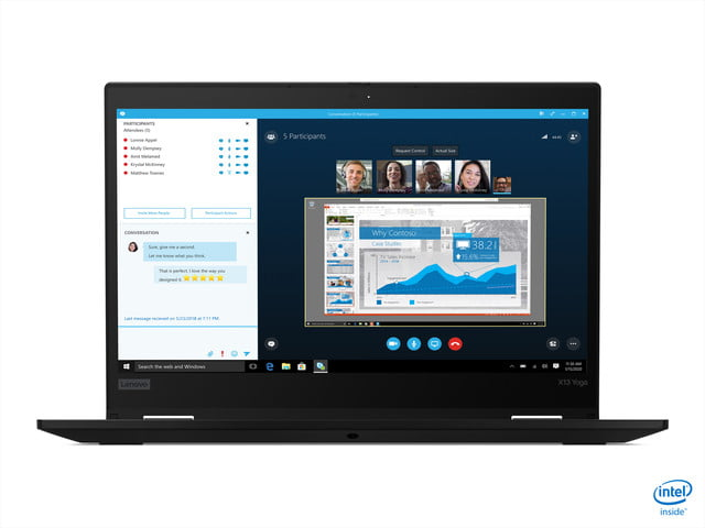 lenovo announces new thinkpad l x and t models for 2020 02 x13 yoga black hero front facing