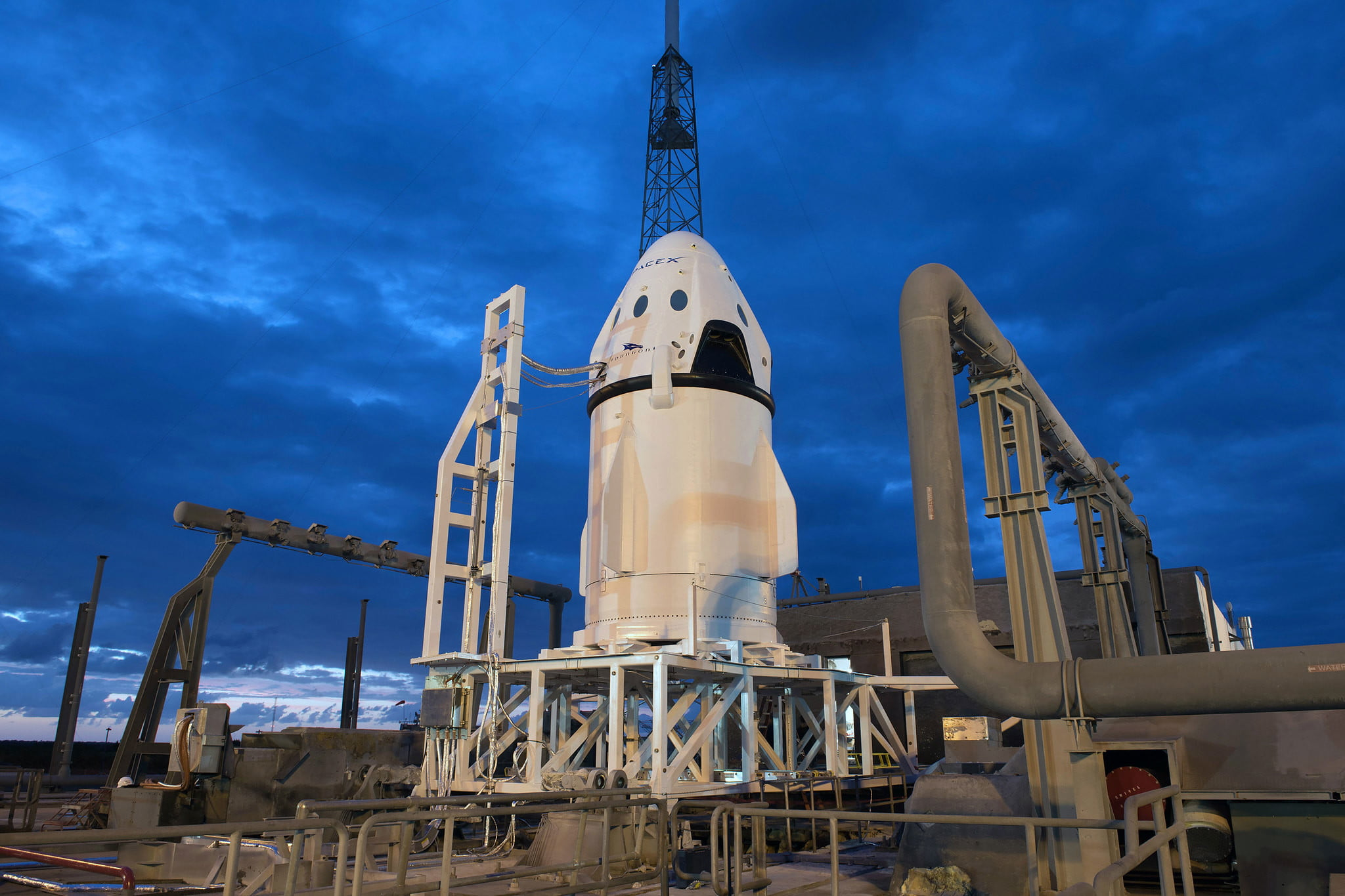 SpaceX will test its Crew Dragon capsule next week, following explosion in April