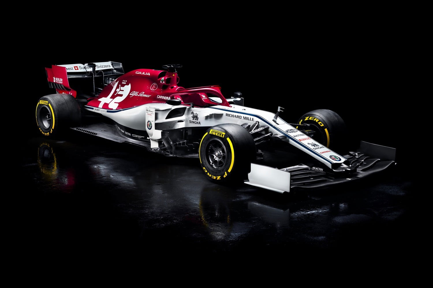 Alfa Romeo Racing Unveils C38 Formula One Car for 2019