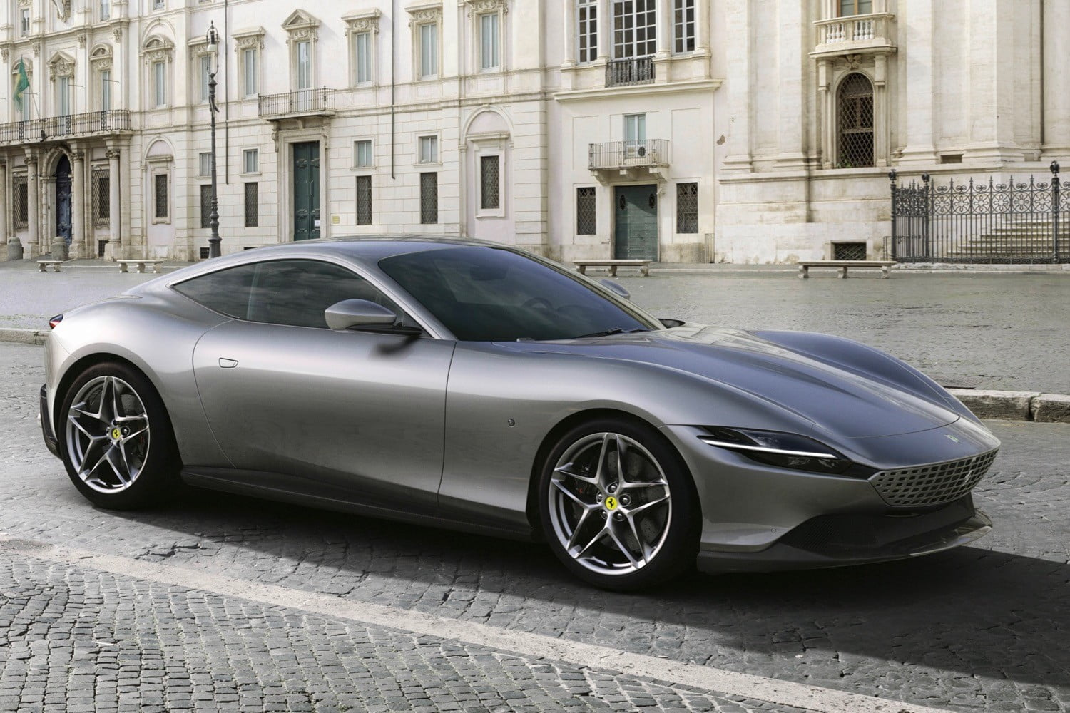 Ferrari rediscovers beauty with the 612-horsepower, 199-mph Roma