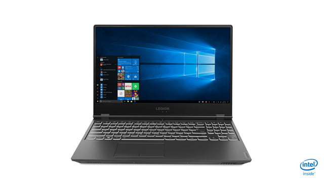 lenovo new legion gaming laptops ces 2019 19 y540 product photography 15inch hero front facing forward windows screenfill