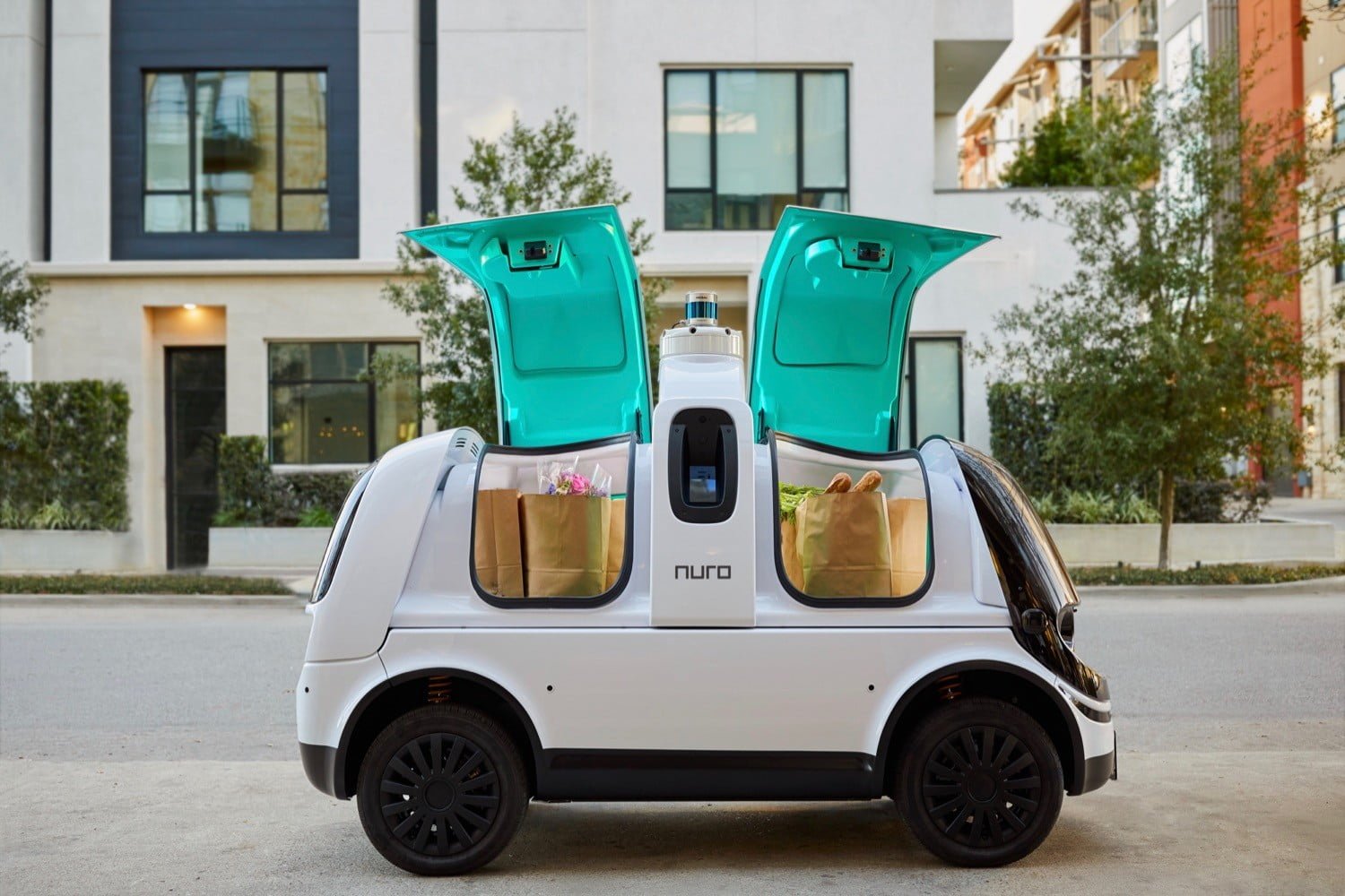 Nuro granted first federal safety exemption for a driverless car