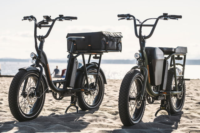 versatile radrunner electric utility bike can carry a passenger or cargo 2  1