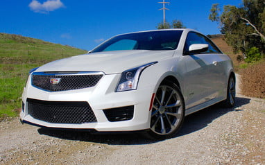 2016 Cadillac ATS-V Coupe Review | Digital Trends