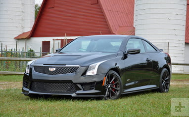 2017 Cadillac ATS-V Coupe Review | Performance, Pictures