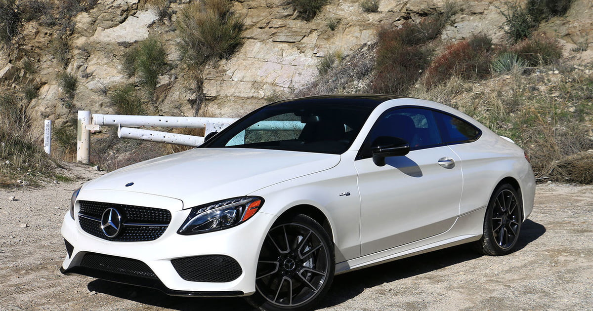2017 Mercedes Amg C43 Coupe Review Turbocharged Torque Hits Tarmac Digital Trends