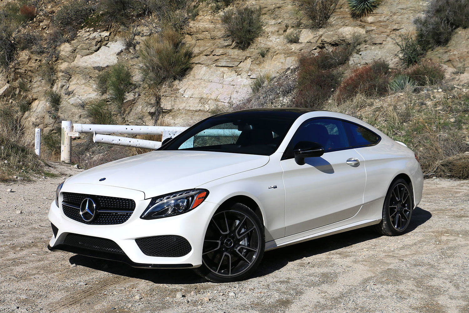 Mercedes C43 Amg Coupe >> 2017 Mercedes Amg C43 Coupe Review Turbocharged Torque Hits