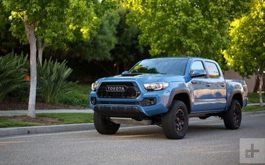 2018 Tacoma Colors >> 2018 Toyota Tacoma Trd Pro Review Digital Trends