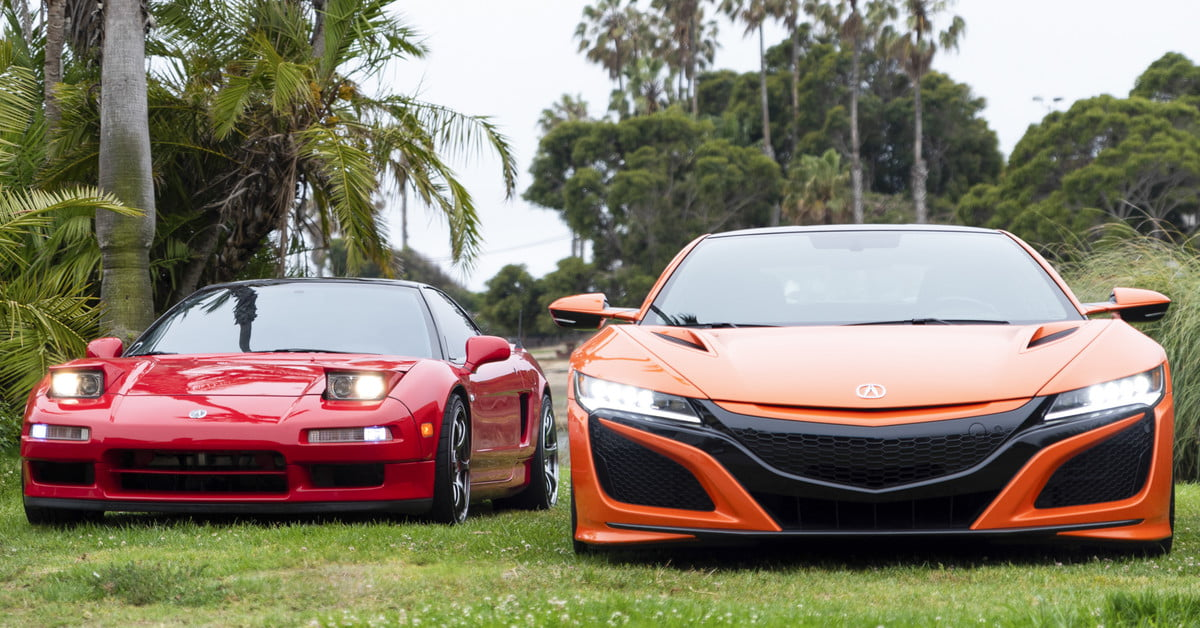 You Re Wrong The New Acura Nsx Is Just Like The Old Nsx