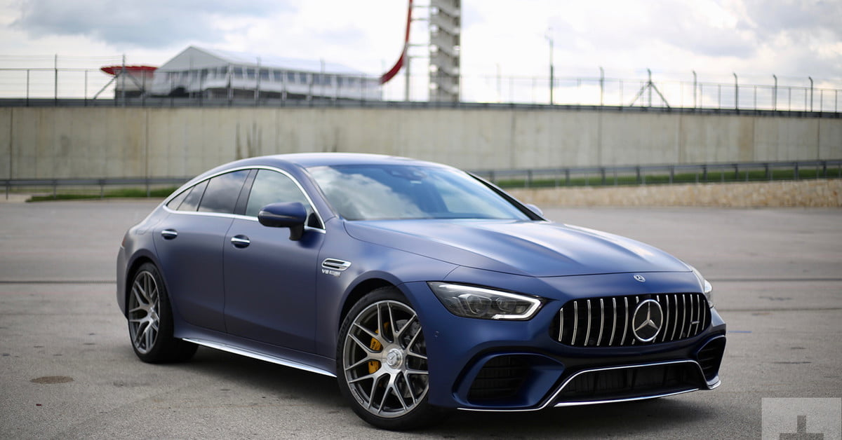 2019 Mercedes-AMG GT 4-Door Coupe First Drive | Pictures ...