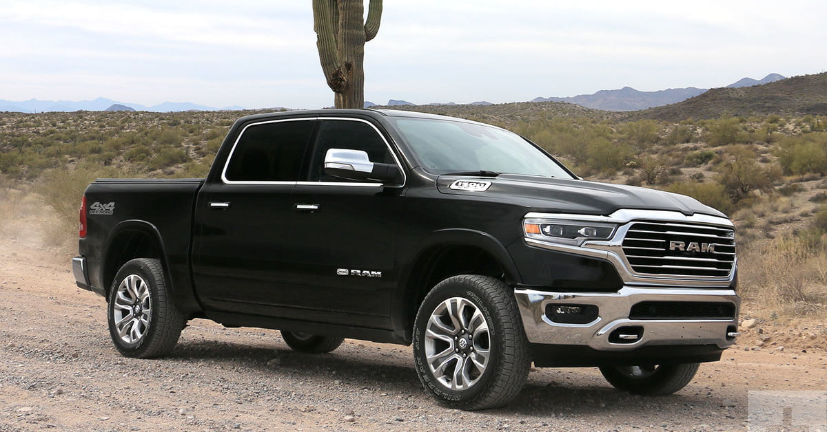 2019 ram 1500 first drive review digital trends. Black Bedroom Furniture Sets. Home Design Ideas