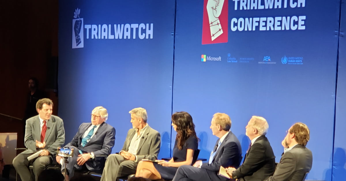 Clooney Foundation for Justice, Microsoft Unveil TrialWatch