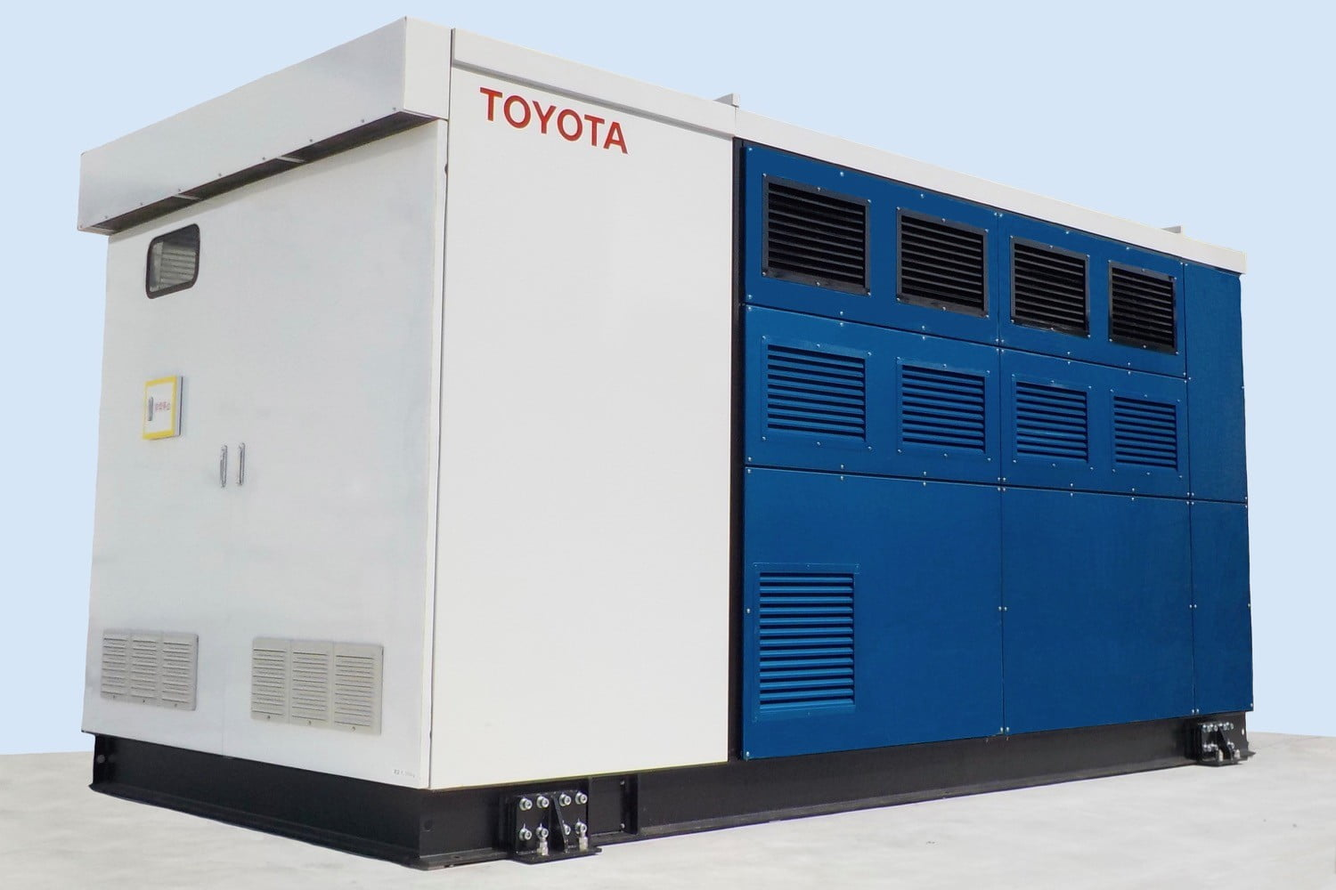 Toyota uses hydrogen fuel cells to power one of its Japanese factories