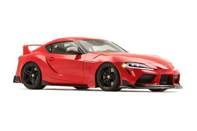 toyota displaying eight supra based builds at sema 2019 grsupra heritage 051
