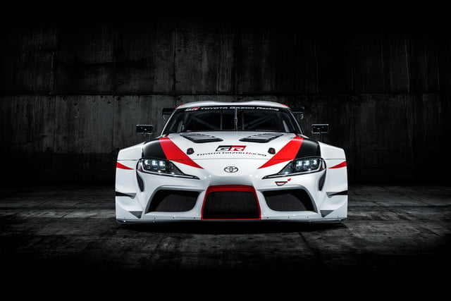 toyota displaying eight supra based builds at sema 2019 grsupra racingconcept 01