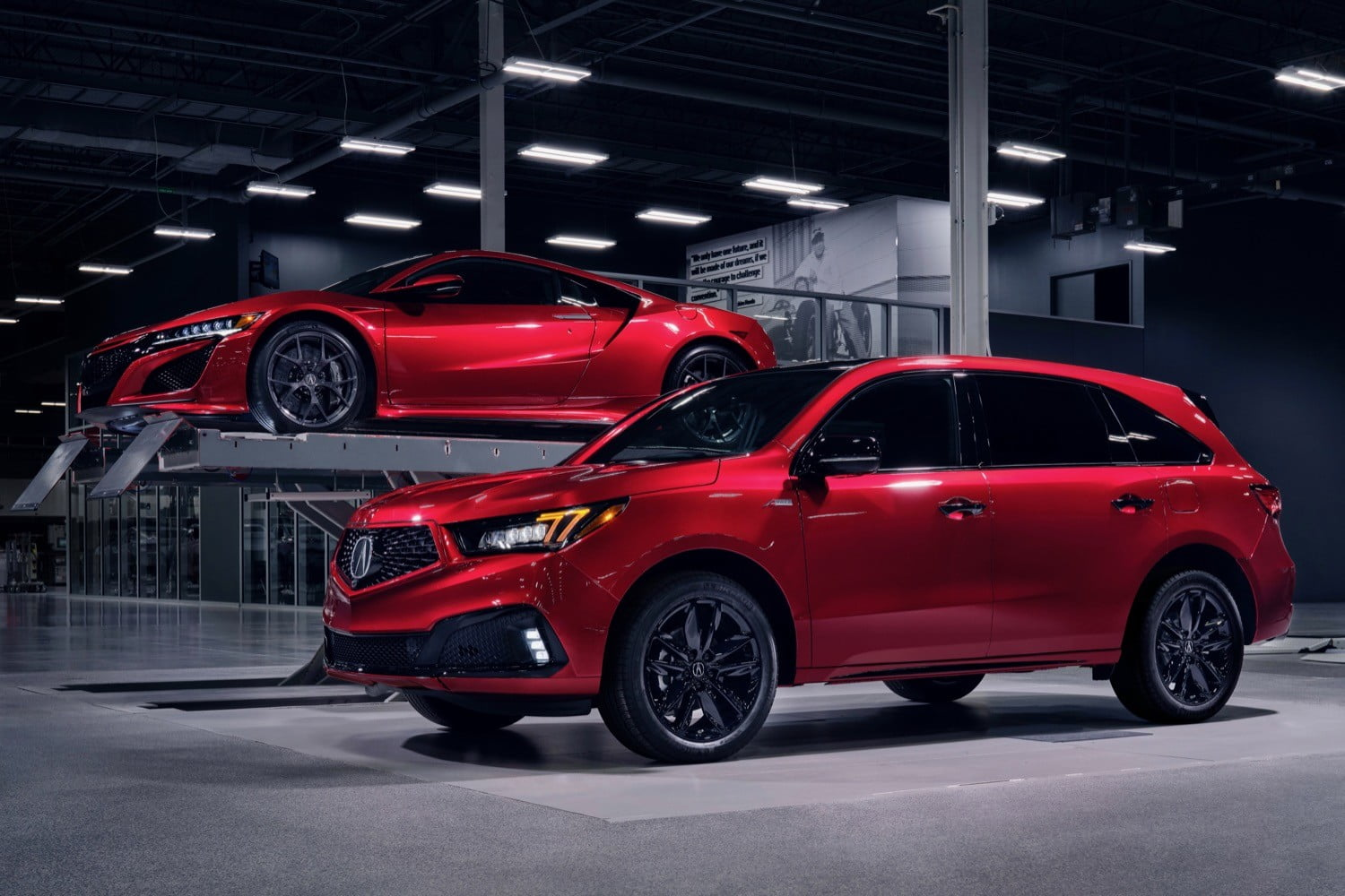 Acura adds some supercar touches to its MDX family crossover