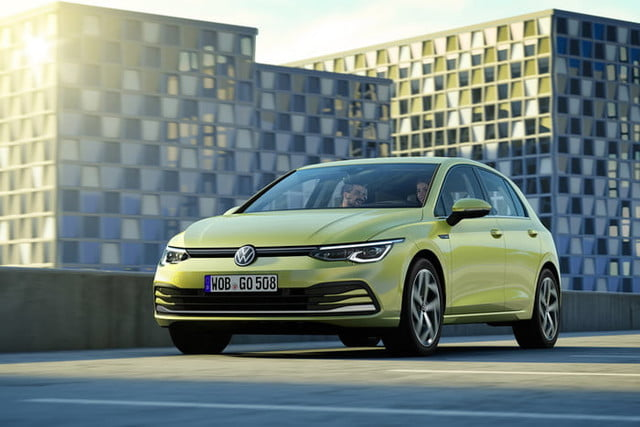 new 2020 volkswagen golf gets big tech powertrain upgrades official 1