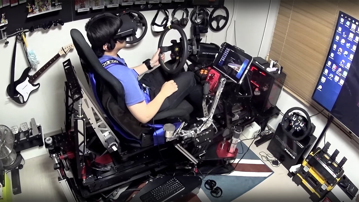 Check Out This Amazing 25 000 Racing Simulator Build Digital Trends