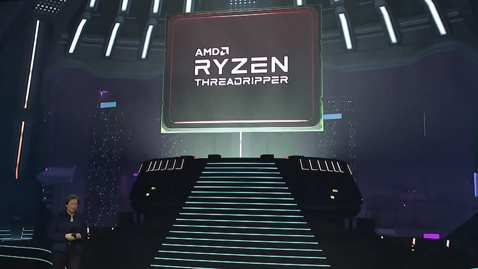Threadripper 3990X smashes its way on stage at CES with 64 cores and 128 threads