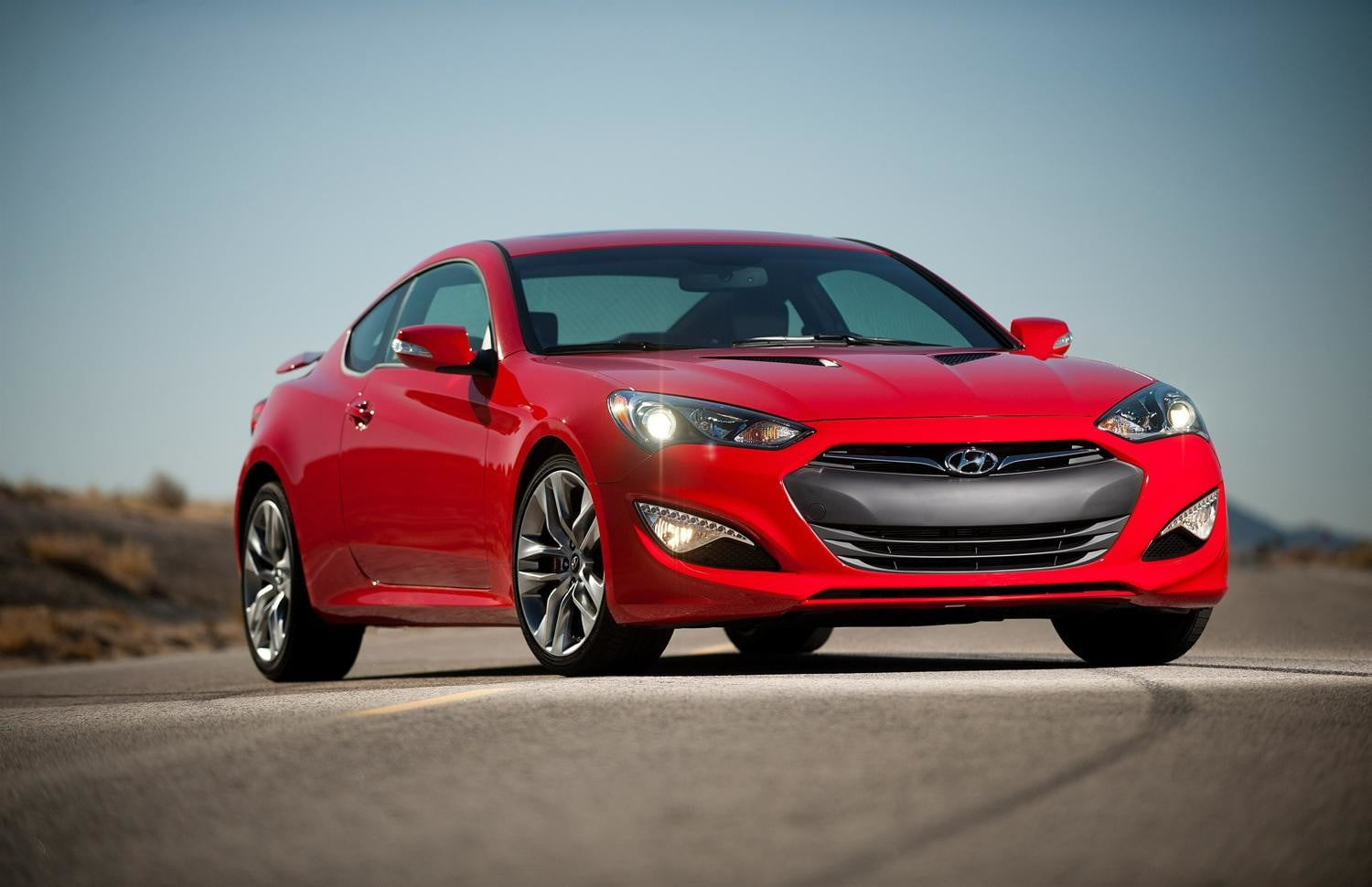 Hyundai's Genesis Coupe never got a V8, but it might get twin turbos instead