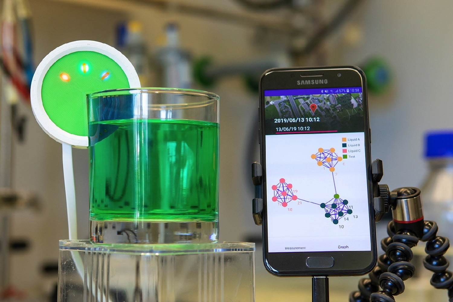 What's that liquid? IBM's flavor-identifying 'e-tongue' will tell you