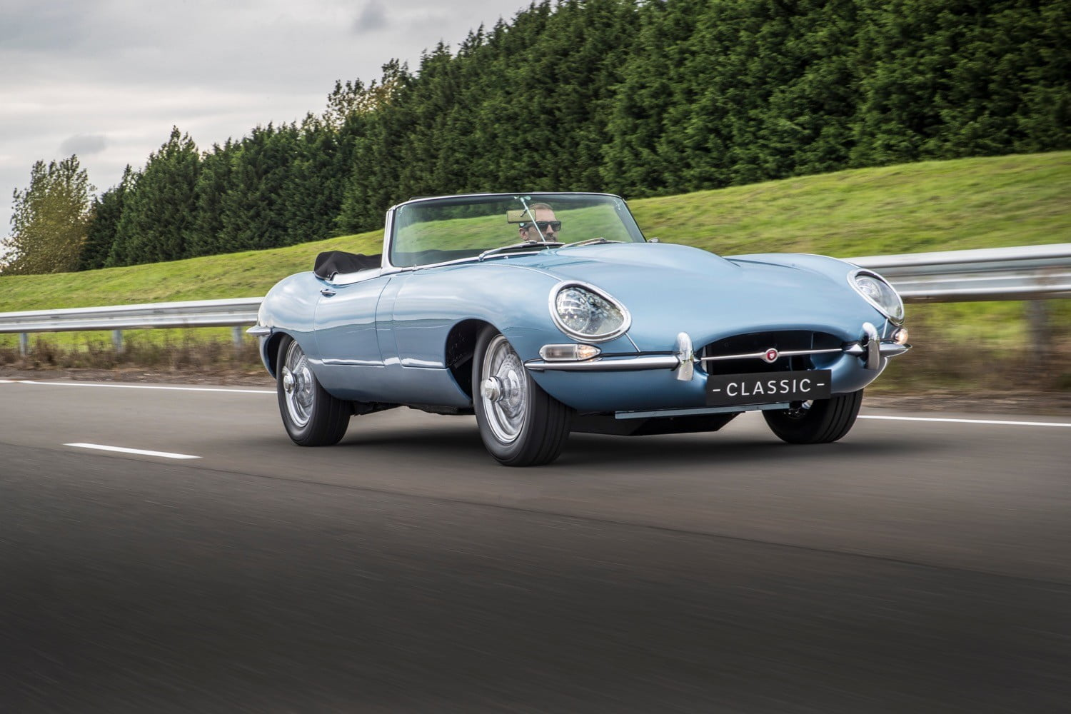 These classic cars marry timeless style with modern electric power