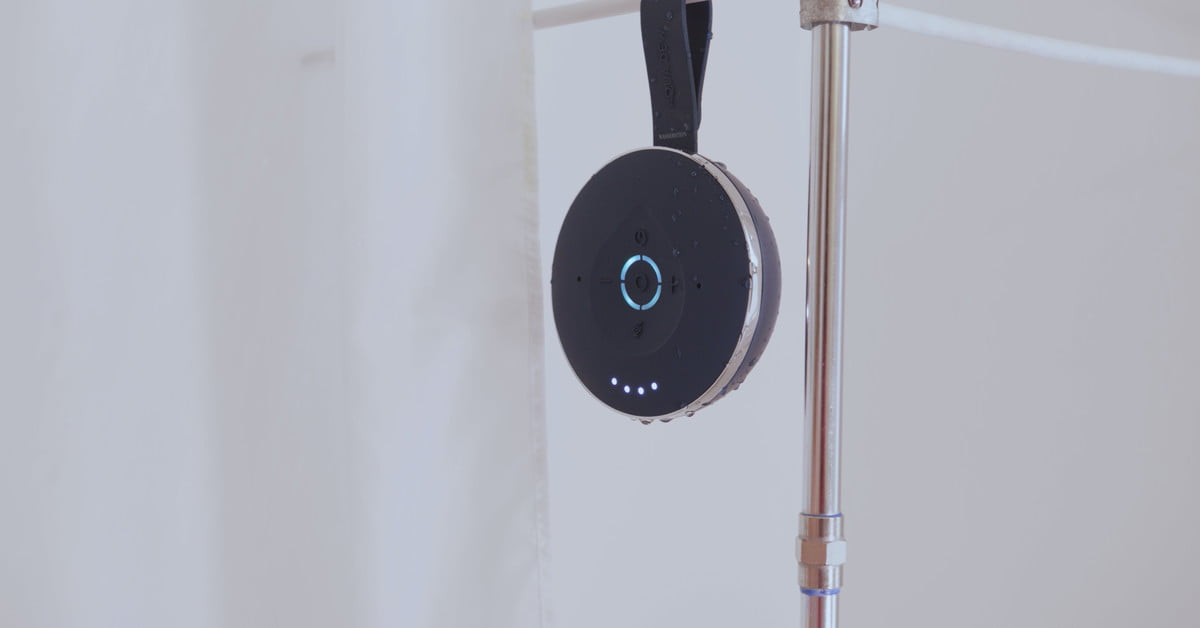 This new smart speaker lets you take Alexa into the shower