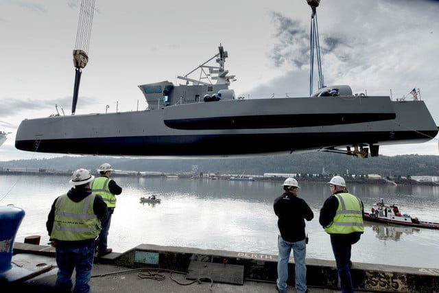 darpa officially christens the actuv in portland launch 3