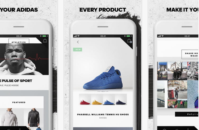 First Adidas Shopping App Uses A.I. To