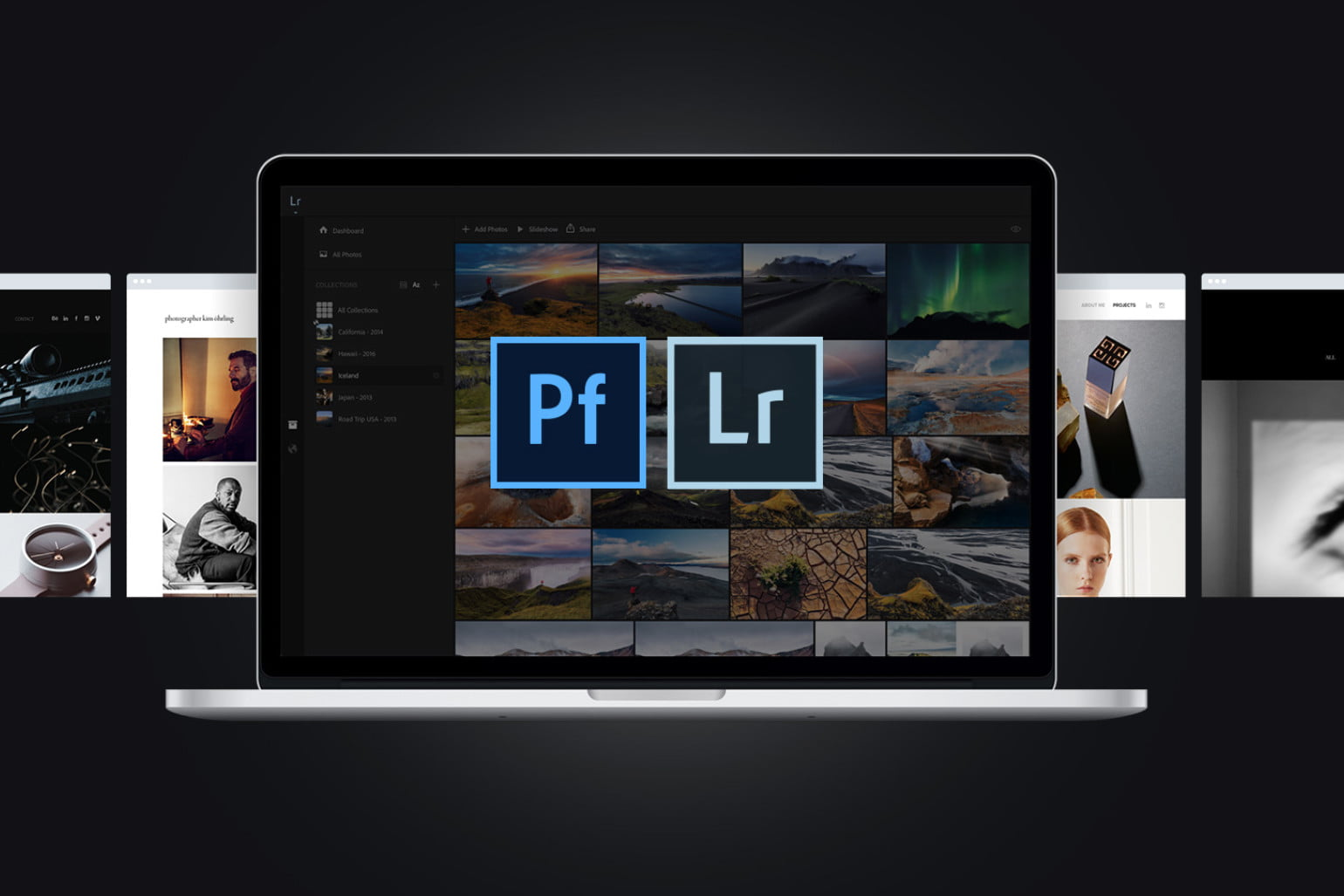 Adobe Portfolio can now upload entire Lightroom collections at once