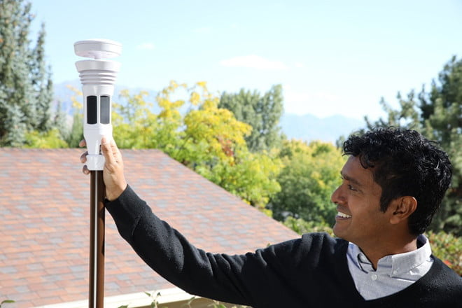 This weather station system is a smart forecasting device you need in your home