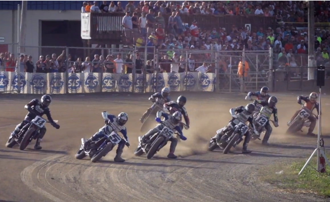 Airbag racing suits will be mandatory for 2020 American Flat Track racing