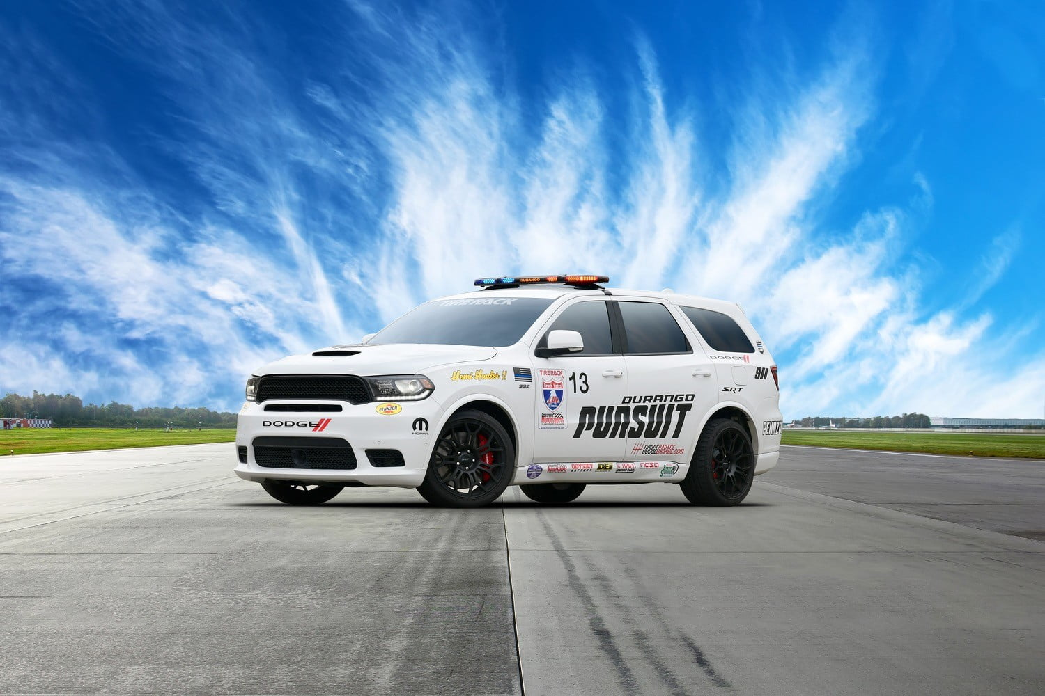 Dodge Built A Hellcat Powered Durango Pursuit For One Lap Of America Digital Trends