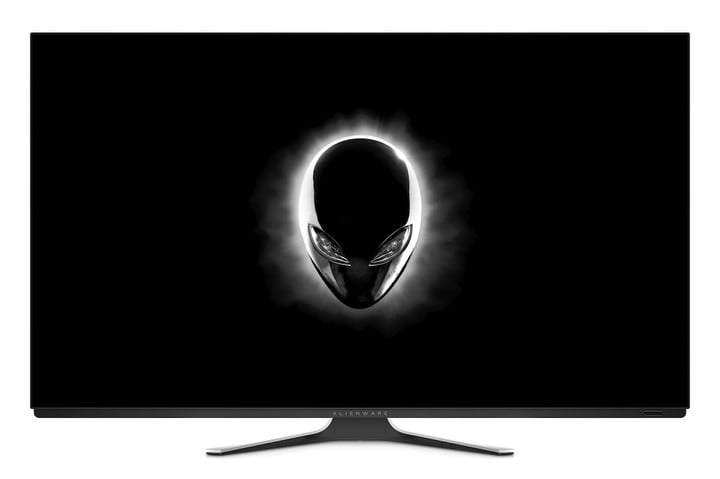 alienware gaming mouse teclado monitor gamescom 2019 55 pulgadas aw5520qf oled