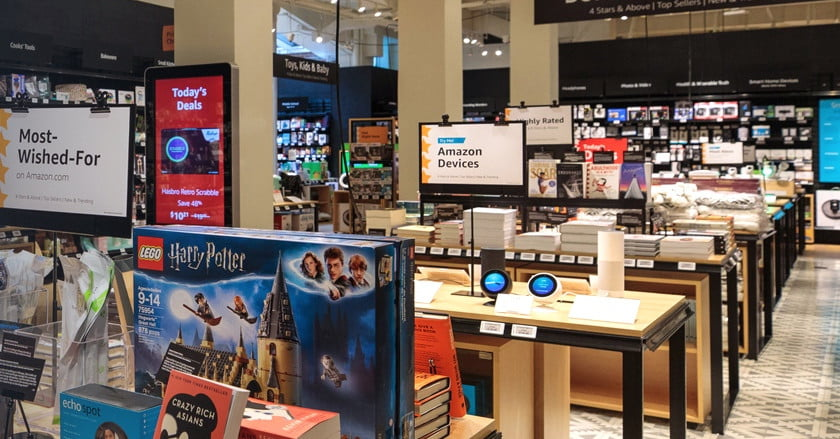 Amazon goes a mile high for its second brick-and-mortar '4-star' store