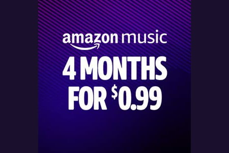 Early Black Friday Deal: Amazon Music Unlimited for $0.25 per month