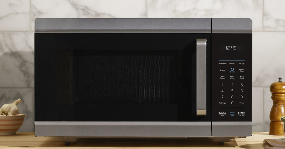The Amazon Smart Oven Air Fries, Bakes, and Microwaves