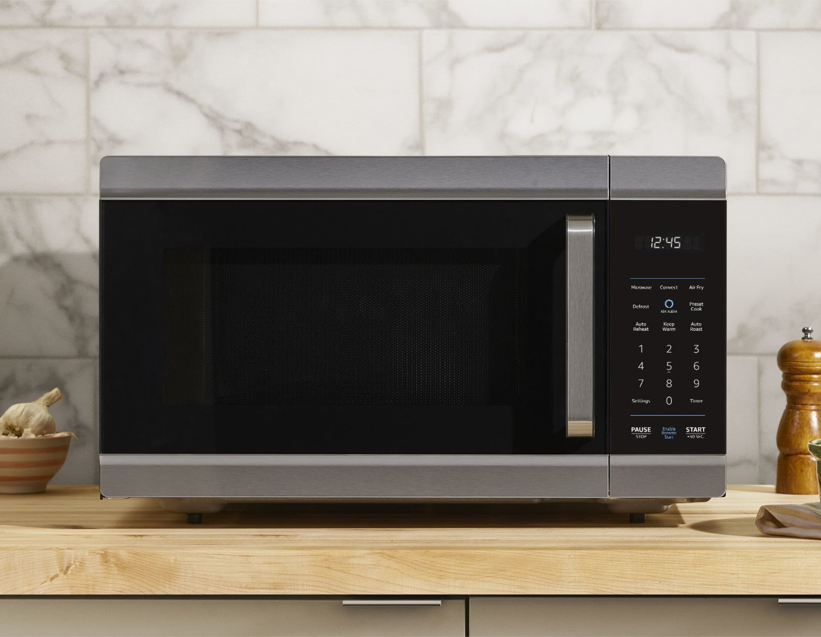 Amazon's new smart oven can air-fry, bake, and microwave your meals