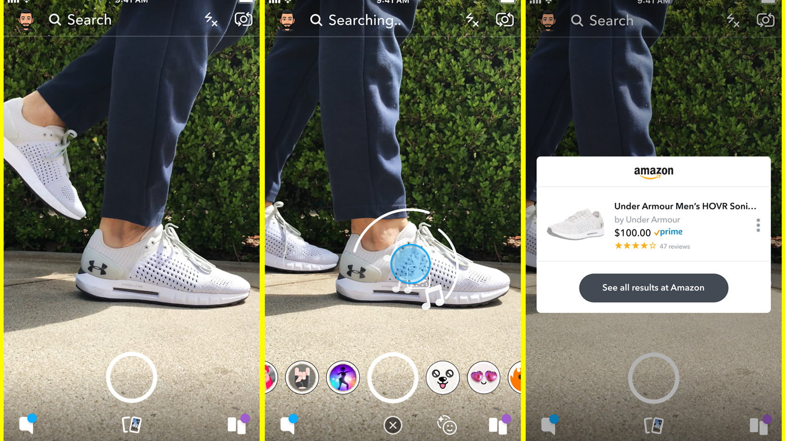 eef1826832ef4 Snapchat Will Soon Shop Amazon For You Using Object-Recognition A.I. ...