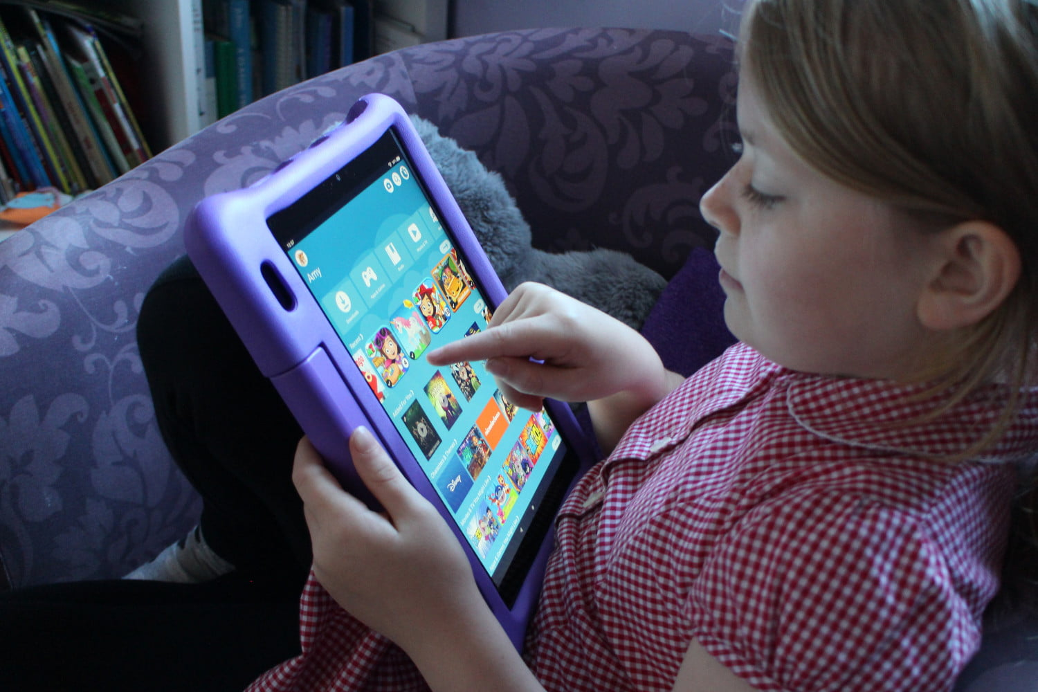 Amazon Fire Hd 10 Kids Edition Review The Best Big Tablet For Children Digital Trends