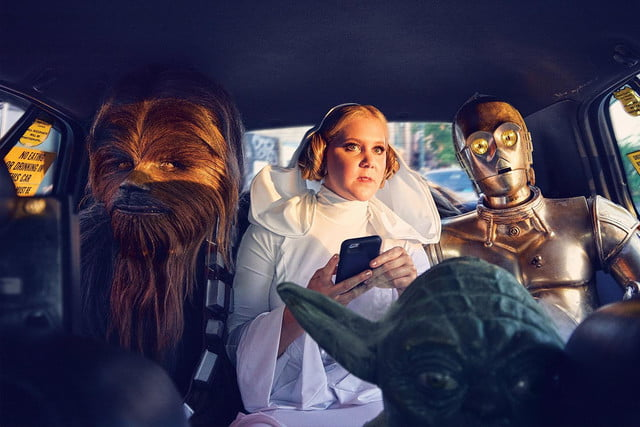 amy schumer risque star wars photo shoot gq is the funniest woman in galaxy  mark seliger 05
