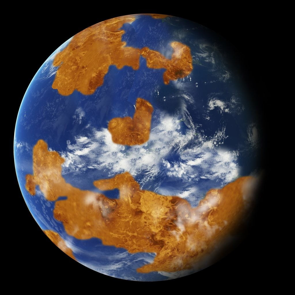 Was hellish hothouse Venus once a temperate planet covered in water?