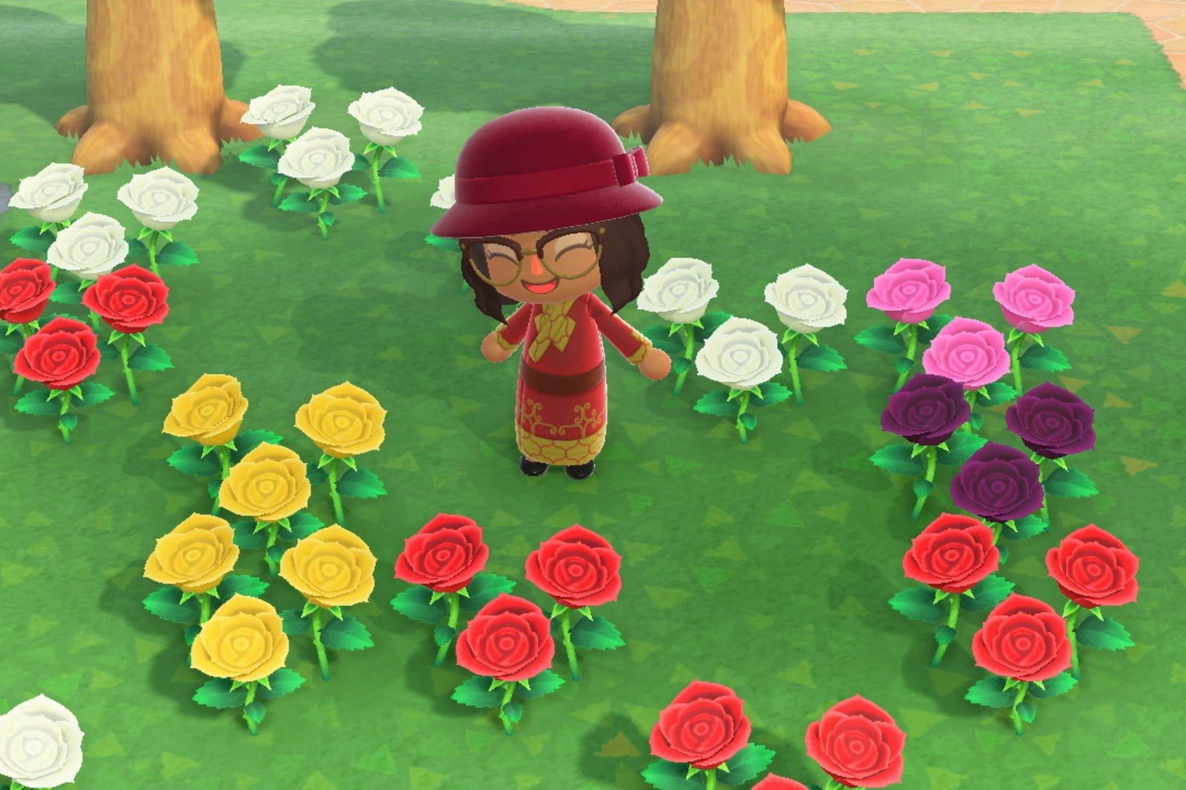 animal crossing new horizons flowers breeding chart